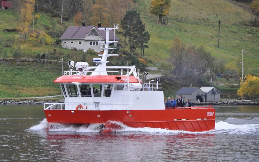 Osland Havbruk sin nye båt