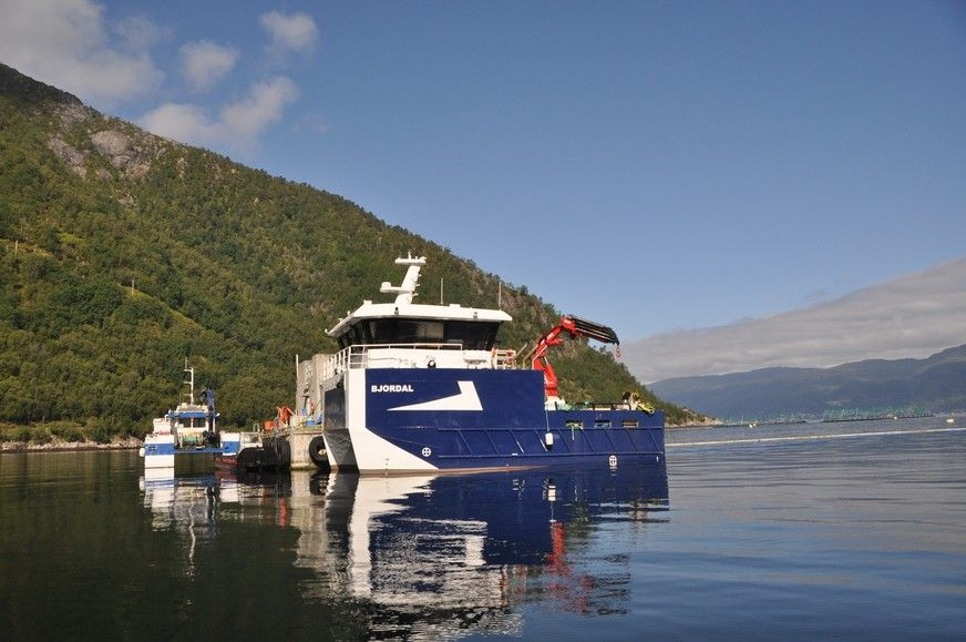 Ledig stilling: produksjonsleiar sjø