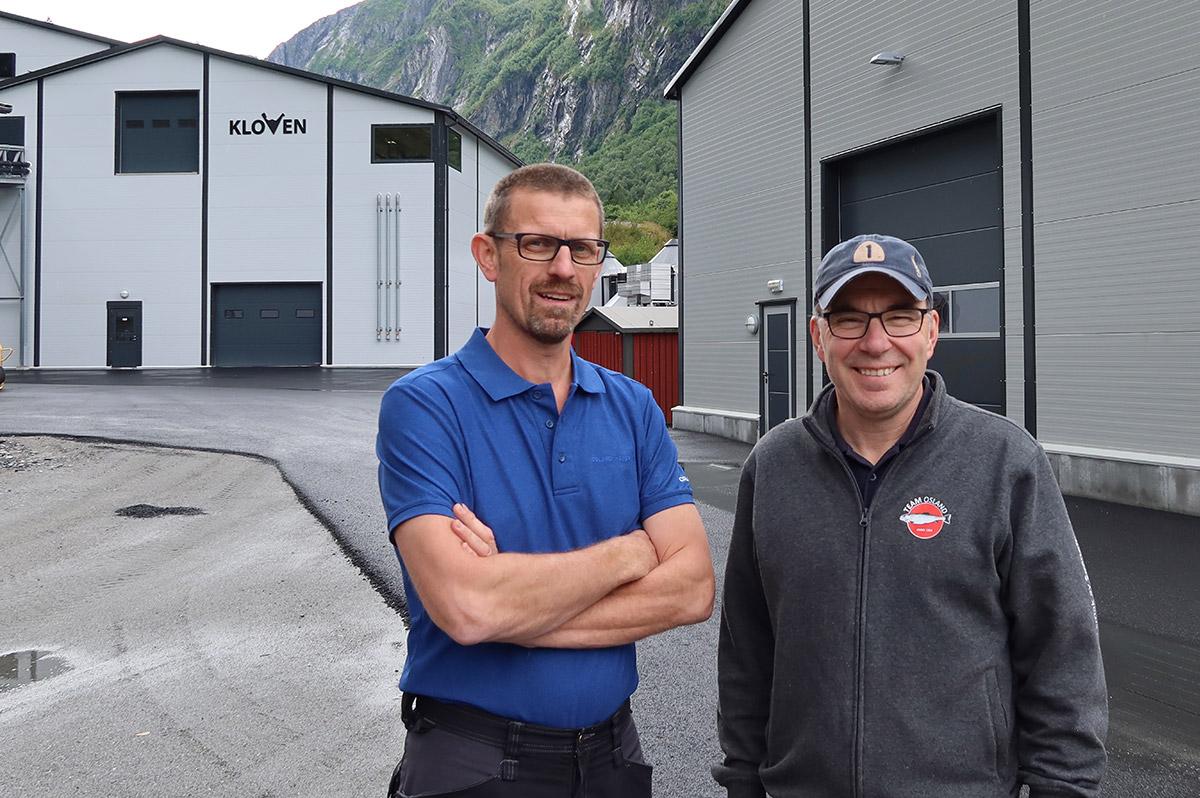 Kjetil Rørtveit og Erik Osland